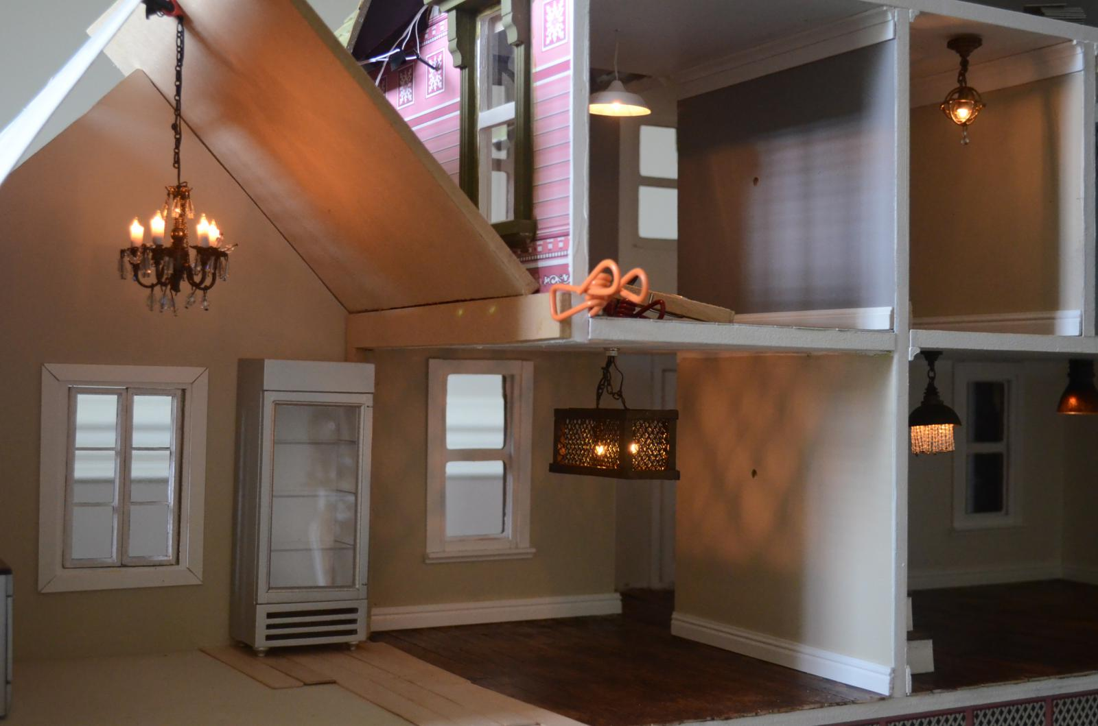 Industrial Dollhouse Lighting-DIY & Industrial Dollhouse Lighting-DIY - Membersu0027 Gallery - The Greenleaf ...