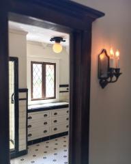 The Glencroft Dollhouse: Bathroom