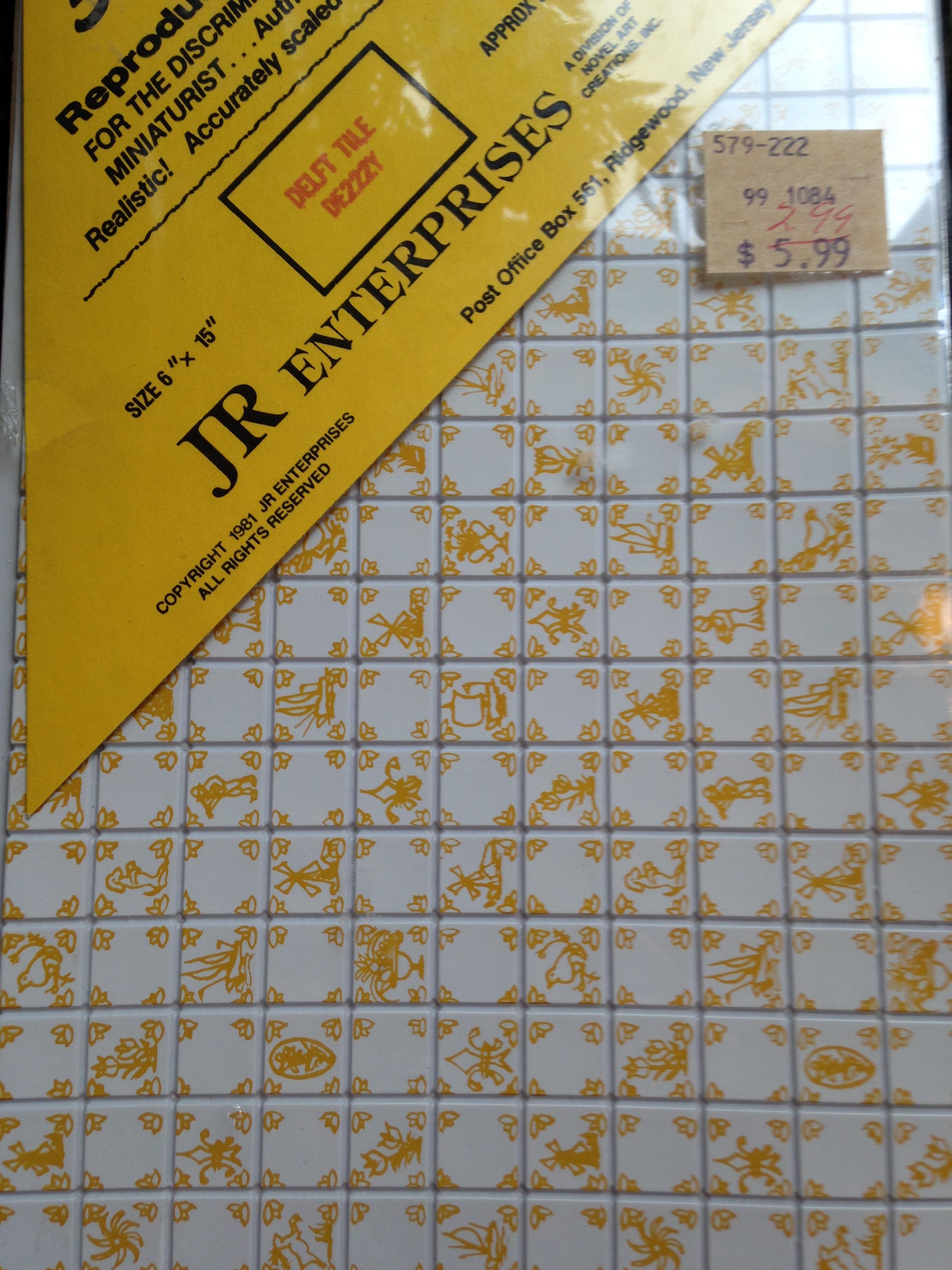 Bathroom Tile Floor General Mini Talk The Greenleaf Miniature