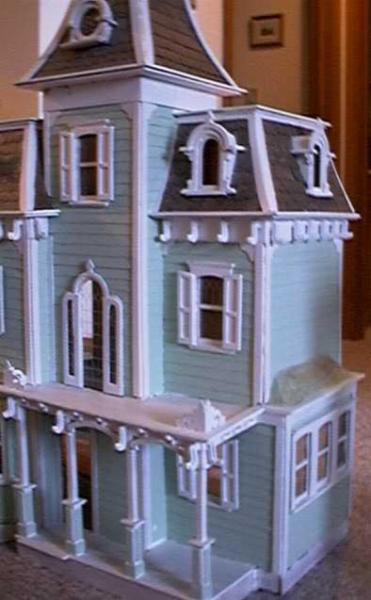 Replacing Windows On The Beacon Hill Greenleaf Dollhouses The