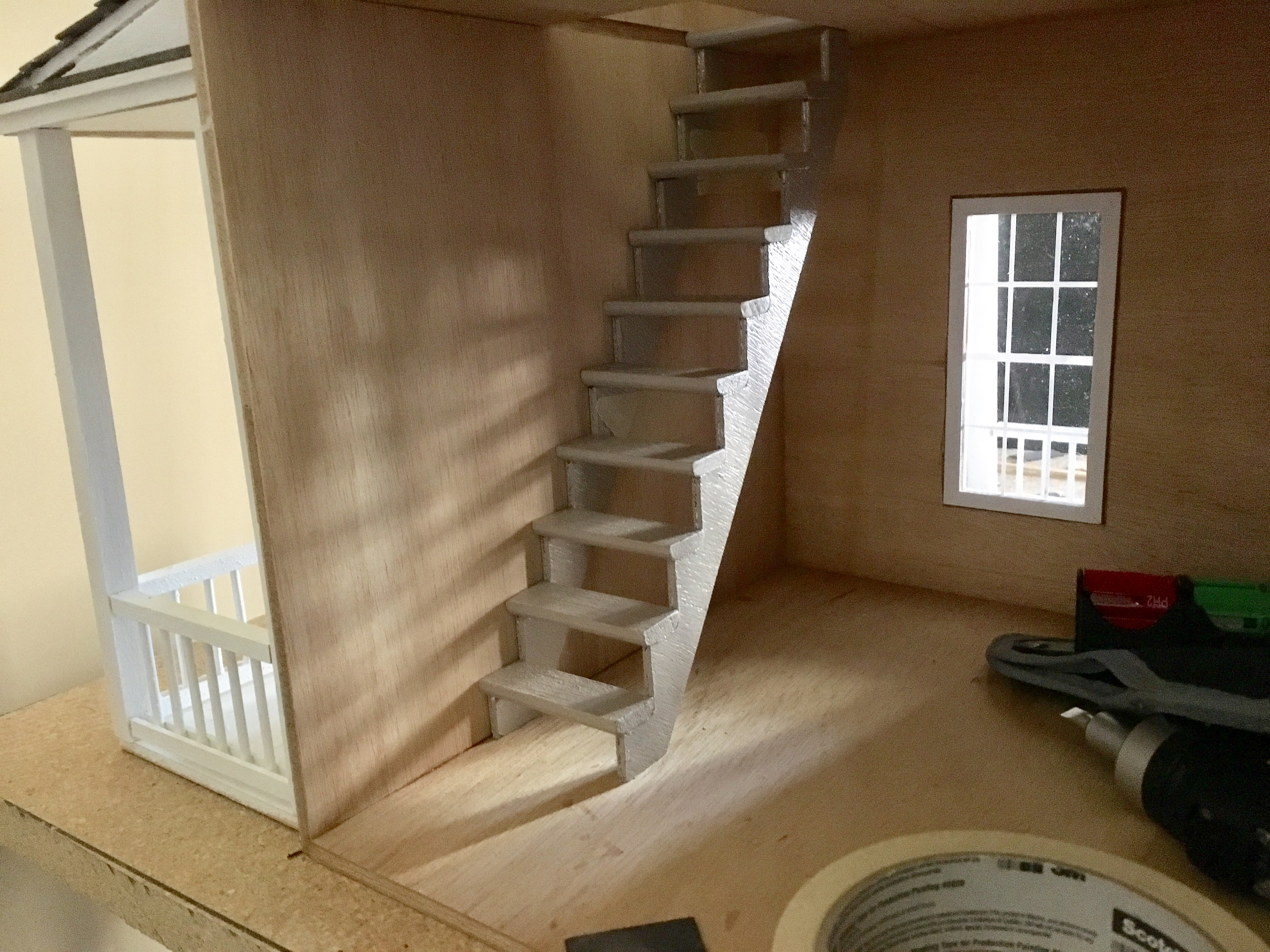 ... Stairs As Well As My Non Glued In Place Steps. Gotta Paint And Do  Flooring Enforce Making It Permanent. Thanks For Any Recommendations You Can  Give Me!