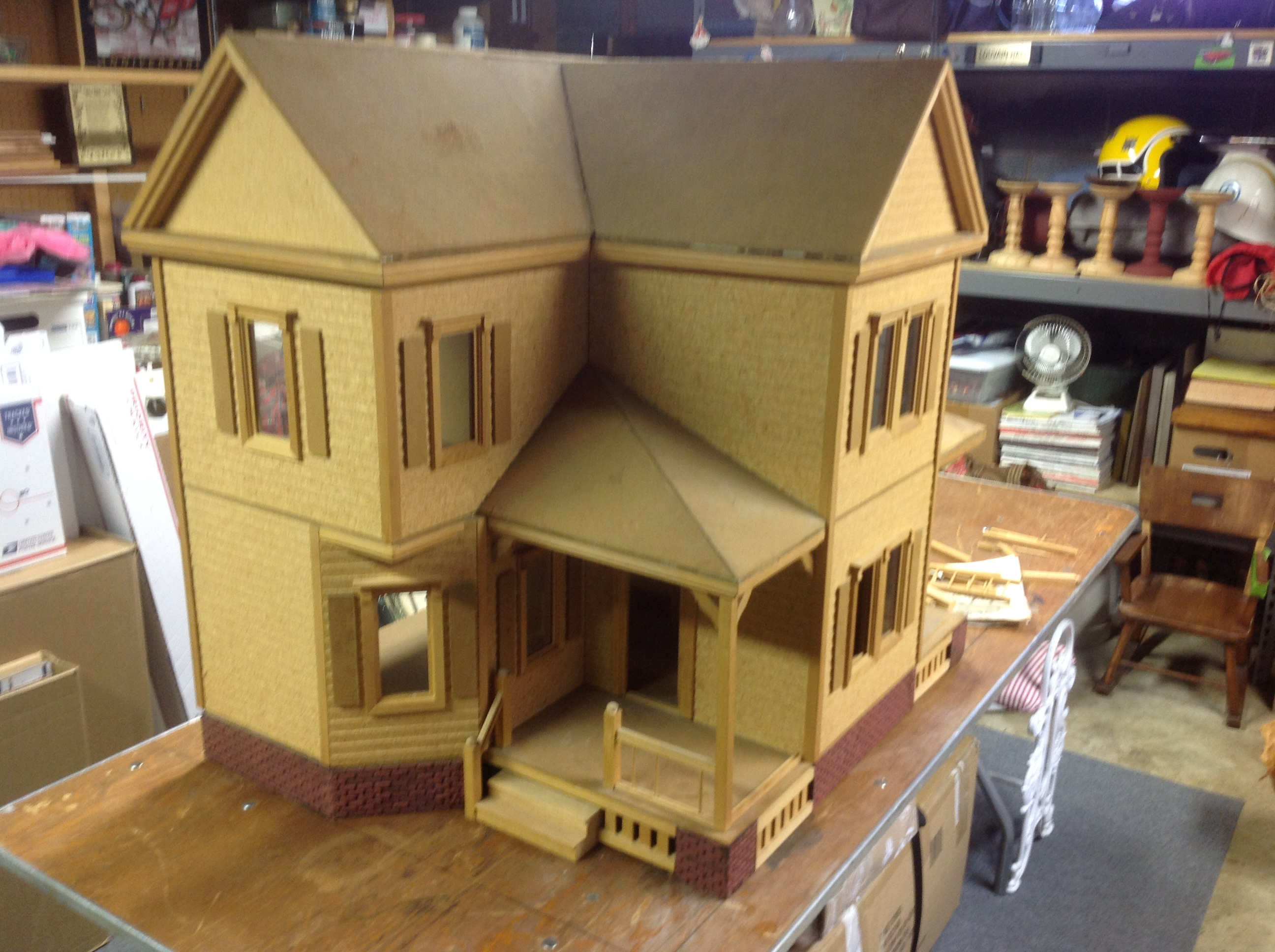 Vintage Country Estate Doll House By S W Crafts My First