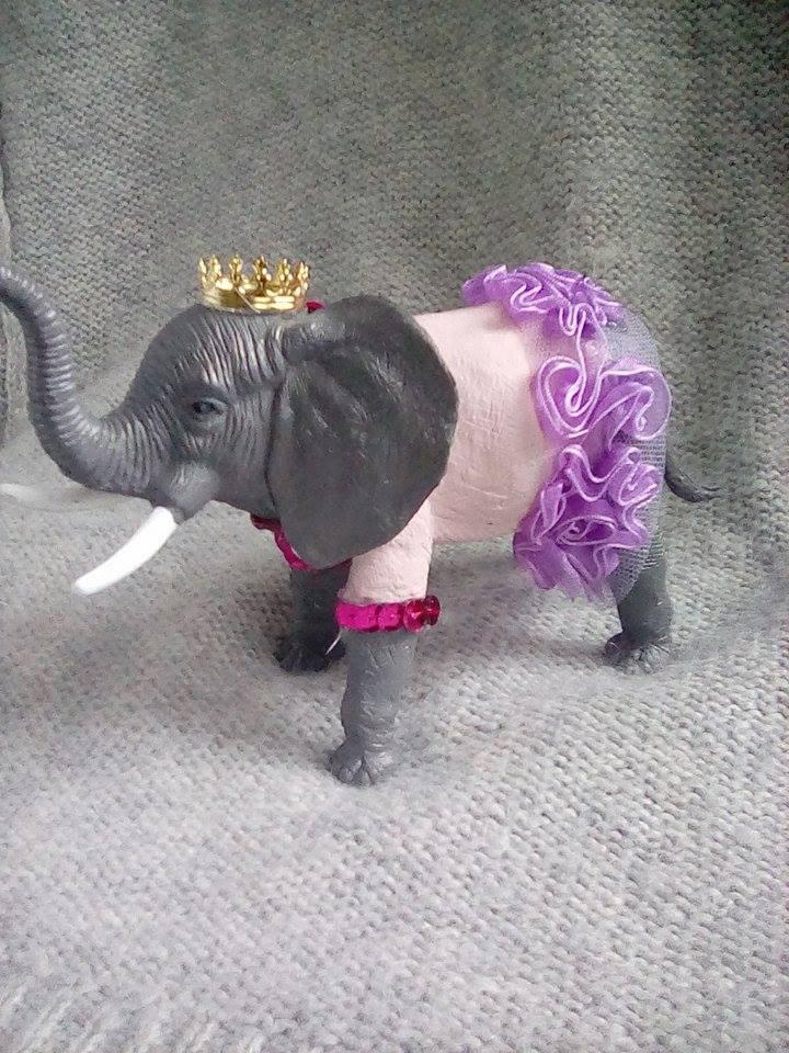 Princess Peanut the Elephant