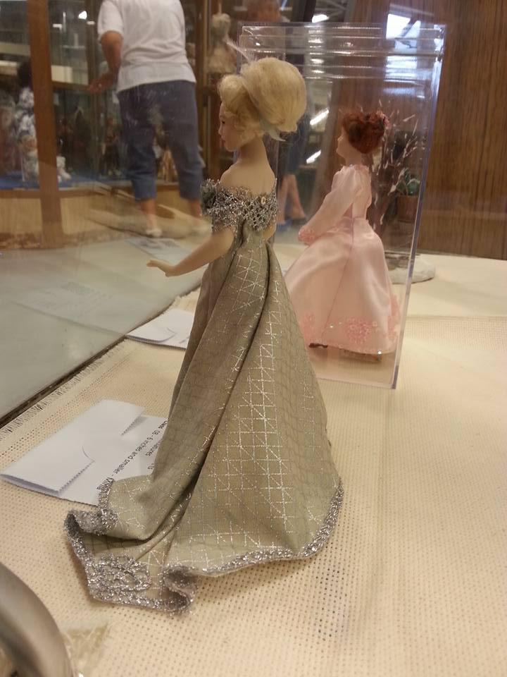 Doll made in a Dana Burton class, Kansas City show, 2016