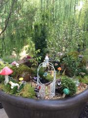 Fairy Garden -What started me on the road to miniatures