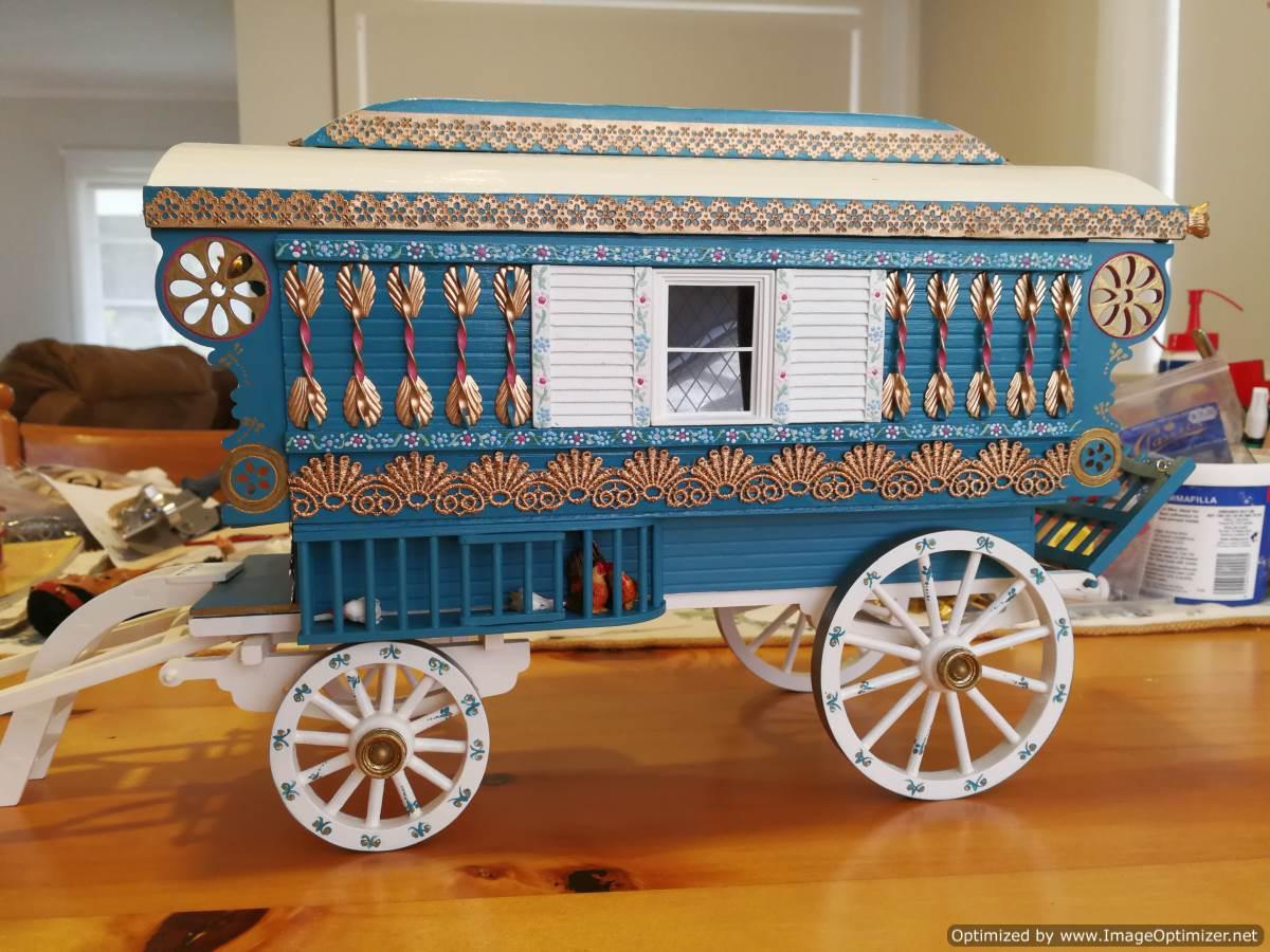 Wagon side finished