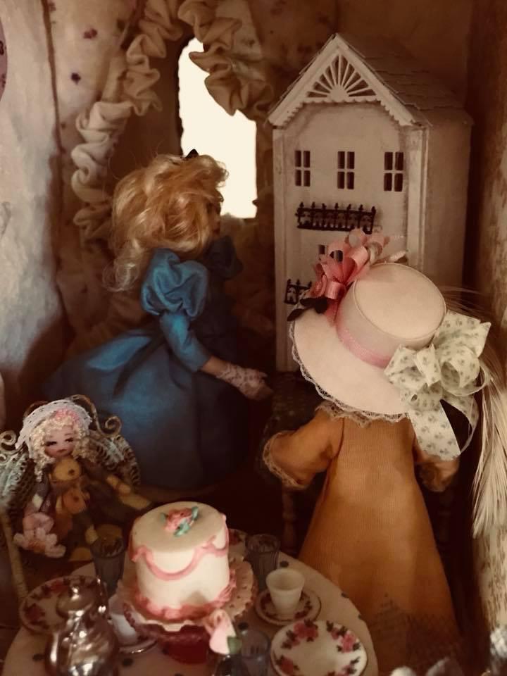 Playing dollhouse