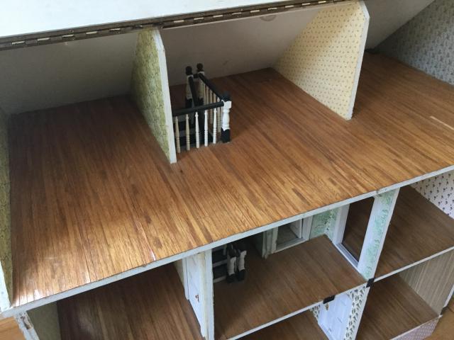 Large Handmade Dollhouse The Greenleaf Miniature Community