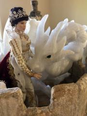 Magnolia Fairy house