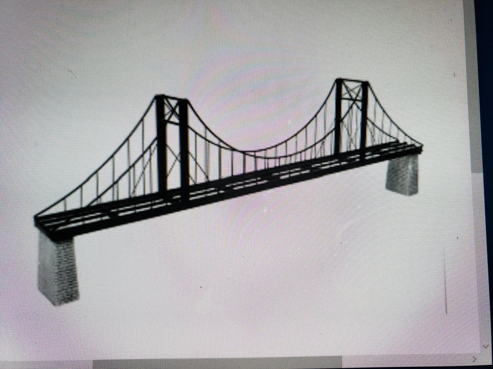 8 foot G scale bridge