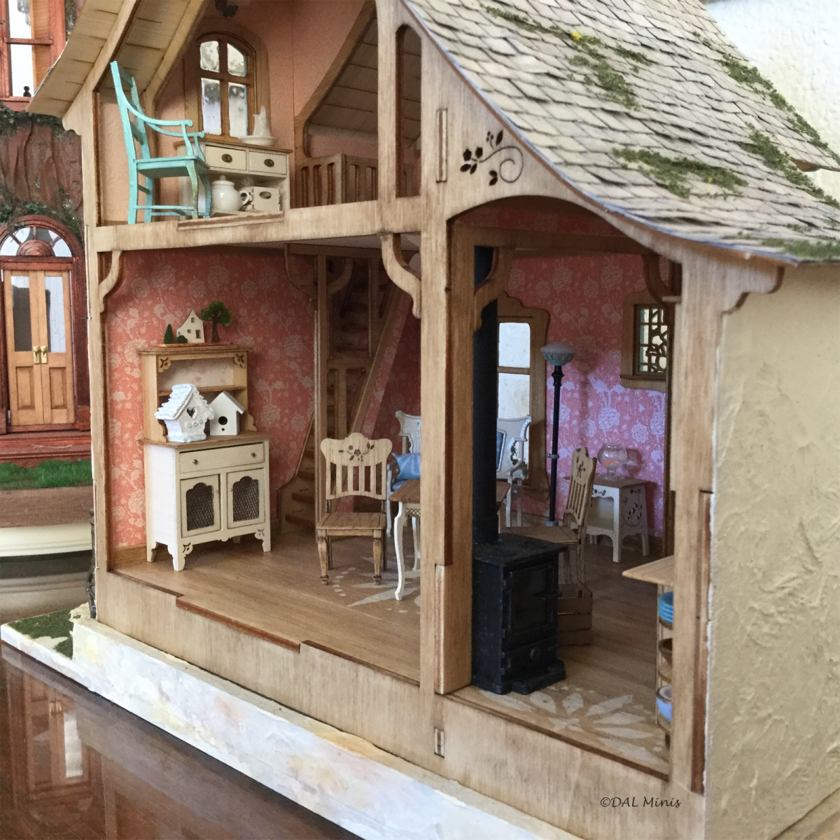 Diorama in situ