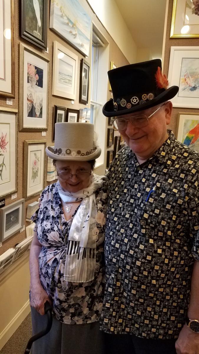 steampunk hats