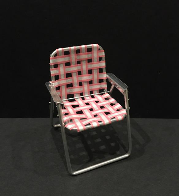 old fashioned folding chair