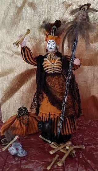 Voodoo Priestess Doll