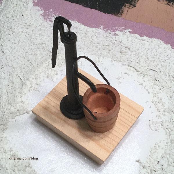 Water pump in progress