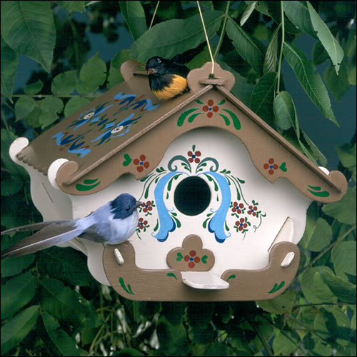 Decorate your garden with bird nest bird house my - Decorating with bird houses ...