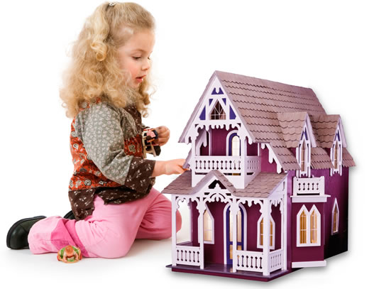 Dollhouses Make The Perfect Holiday Gift!