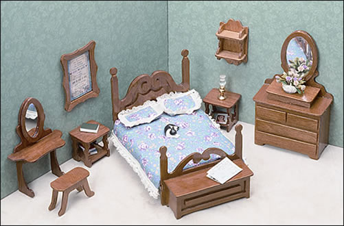 Miniature Furniture Kits Bedroom