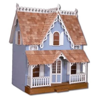 The Arthur Dollhouse: Front View