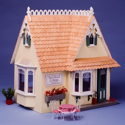 Storybook cottage dollhouse kit for Piani di casa cottage storybook