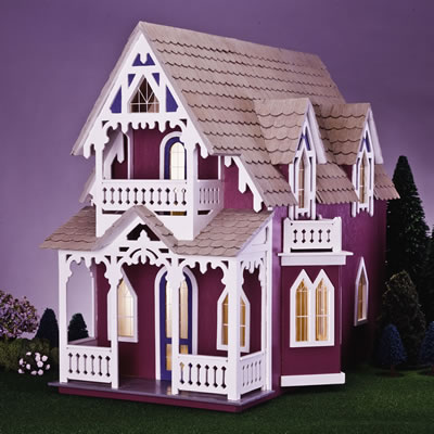 Vineyard dollhouse Victorian cottages kit homes