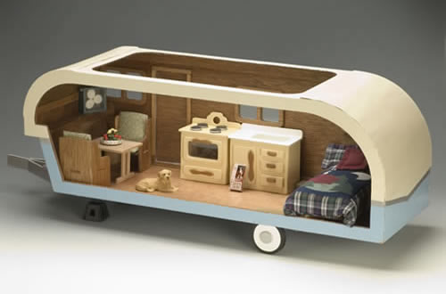 Miniature Travel Trailer Kit