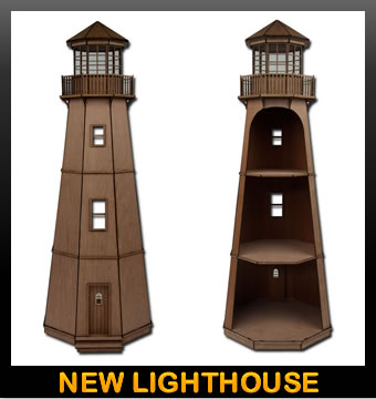 Build Wooden Wooden Lighthouse Kits Plans Download Wooden